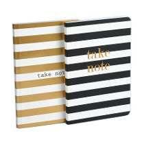 Cuaderno.diseño Take Note Set X 2. Hojas Blancas.organzza