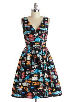 Roadside Attraction Dress | Mod Retro Vintage Dresses | ModCloth.com