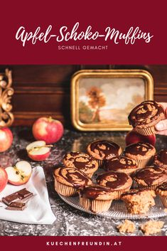 Foodblogger, Sweets, Winter, Finger Food, Chocolate, Kaffee, Bakken, Chocolate Apples, Winter Time
