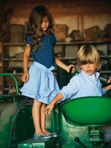 Burda Style: Kinder - Mädchen - Gr. 92 - 188 - Röcke - Mädchen-Rock - Kombi Über- & Unterrock