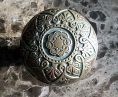 Victorian Eastlake Door Knob Late 1800s by ChrysopoeiaTreasures, $23.00