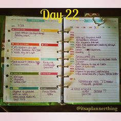 #ShareIG Day 2⃣2⃣ {Today} #plannernerdspc  In the planner for today!