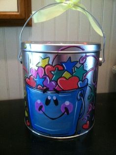 Adorable fill my bucket bucket perfect for by pinkfishstudios