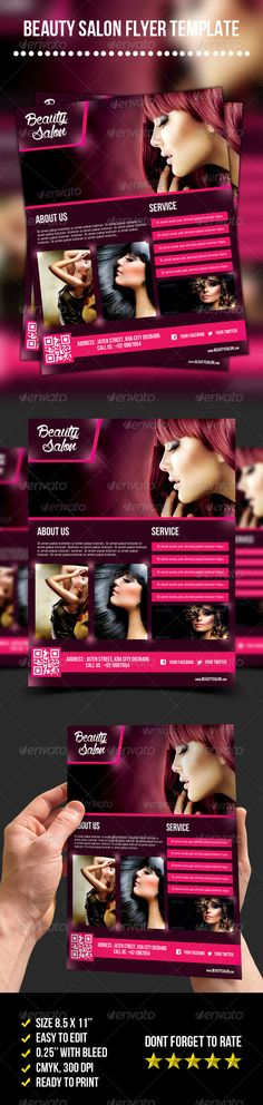 Beauty Salon Flyer - graphicriver sale
