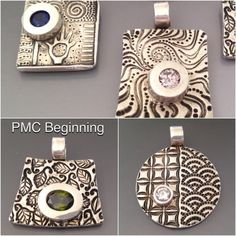 PMC Beginning workshop. (Precious Metal Clay)