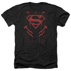 More DC Characters: Superboy Heather T-Shirt