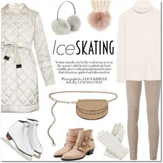 How To Wear Ice Skating Style Outfit Idea 2017 - Fashion Trends Ready To Wear For Plus Size, Curvy Women Over 20, 30, 40, 50