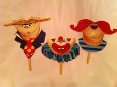 Printable circus masks                                                                                                                                                                                 More