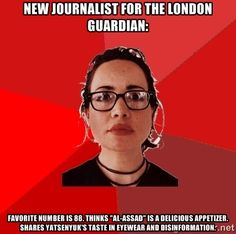 New Journalist for the London Guardian