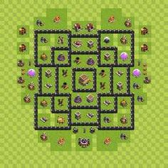 cool layouts for clash of clans - Google Search