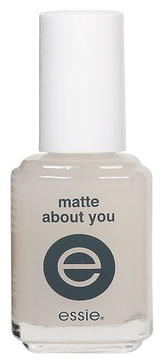 For instantly matte nails!