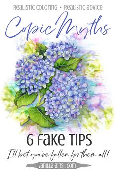 Copic Marker Myths: 6 Fake Tips (think before you believe) — Vanilla Arts Co. Coloring Tips, Adult Coloring, Copics, Prismacolor, Copic Color Chart, Copic Colors, Copic Marker Art, Copic Art, Copic Sketch
