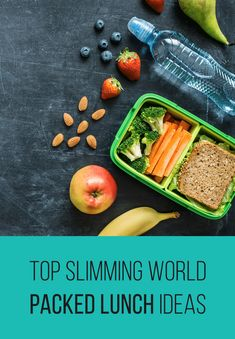 Top Slimming & Weight Watchers Friendly Packed Lunch Ideas - Pinch Of Nom Slimming Recipes Easy Packed Lunch, Healthy Packed Lunches, Prepped Lunches, Healthy Eating, Healthy Lunchbox Ideas, Clean Eating, Slimming World Lunch Ideas, Slimming World Syns, Slimming Recipes