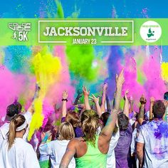 Color Vibe is coming to Jacksonville, FL on January 23rd. Check out the event page for an exclusive coupon code. Don't forget to RSVP! https://www.facebook.com/events/189318348068544/