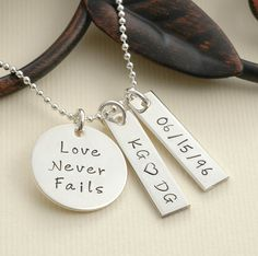 Hey, I found this really awesome Etsy listing at http://www.etsy.com/listing/108818460/love-never-fails-personalized-hand