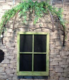 Honeysuckle Cottage Over Door Canopy Hand Made In Wrought