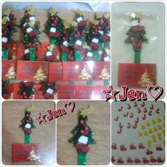 Souvenirs imán navidad, navideño, arbol. Porcelana fría, polymer clay