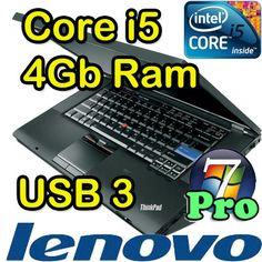 Notebook Lenovo Thinkpad T410 Core i5-M540 4Gb Ram 320Gb DVD±RW 14.1 - 349€