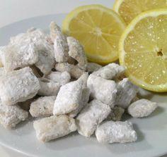 Lemon Curd Muddy Buddies.
