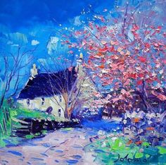 John Lowrie Morrison OBE (born 1948, Maryhill, Glasgow), known as Jolomo, is a Scottish contemporary artist producing expressionist oil paintings of Scottish landscapes