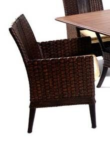 Grand+Cayman+Rattan+Dining+Chair+in+Golden+Walnut