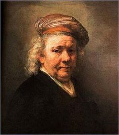 Rembrandt - Love how he painted himself all through his life, and you could see him grow as an artist