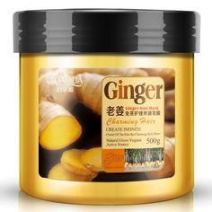 500 ml hơi miễn phí dinh dưỡng mặt nạ tóc gừng một lớp thuốc mỡ nướng tóc hư khô sửa chữa mềm điều điều trị tóc keratin