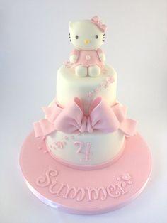 My Dream Hello Kitty Cake