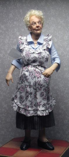 another very well done dollhouse miniature doll