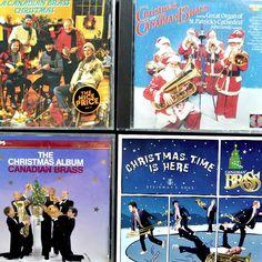 Canadian Brass #Christmas 6 Cd Lot Steinway Noel St. Pats Organ Experiment Album #canada