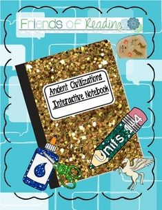 I have compiled my three Interactive Notebooks into one download for those just starting out!  Having trouble creating fun and engaging social studies lessons? After teaching ancient civilizations to sixth graders for many years I am compiling a few of my interactive notebook tools. Included in this unit:  UNIT ONE: ** MY BEST SELLER!!** http://www.teacherspayteachers.com/Product/Interactive-Notebook-Ancient-Civilizations-Unit-1-Geography-880252  1. World Map Partner Sheet - great tool to…