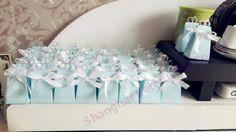 12pcs TH021 Tiffany Ring Love Wedding Candy Box欧式婚礼布景 #weddingfavorbox #weddingsouvenirs #weddingideas #crafts
