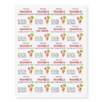 Bachelorette Party Temporary Tattoo's Temporary Tattoos