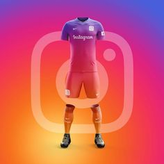Which soccer fan has never dreamed of designing the jersey of a professional team? Designers from Graphic UNTD have developed an interesting concept as they imagined outfits for the most popular applications of the AppStore. Football Design, Football Kits, Football Jerseys, Soccer Outfits, Sport Outfits, Apps, Polo Shirt Embroidery, Sport Shirt Design, Corporate Shirts