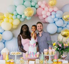 Family First from - This is so beautiful! Even the cake! Amazing family pic for Avas birthday styling - Baby 1st Birthday, Unicorn Birthday Parties, Unicorn Party, First Birthday Parties, First Birthdays, Balloon Decorations Party, Birthday Party Decorations, Birthday Ideas, Wonderland