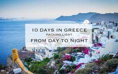 Santorini Greece Packing List