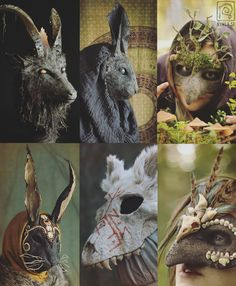 Halloween is approaching! If you want to commission a mask (or something else) from me, to use for Halloween, NOW is the time! Larp, Cool Masks, Creepy Masks, Cosplay Armor, Masks Art, Stuff And Thangs, Animal Heads, Fursuit, Diy Mask