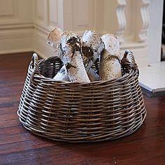 Nordic Log Basket #serenaandlily