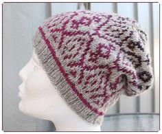Hjerte GO`H Design Knitted Hats, Crochet Hats, H Design, Winter Hats, Beanie, Knitting, Pattern, Fashion, Knitting Hats