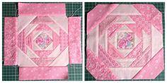 Как сшить пэчворк блок Ананас Pineapple block - мастер-класс с пошаговыми фотографиями. Совместный пошив лоскутного одеяла - МК