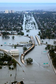 nzafro:  New Orleans after Hurricane Katrina.