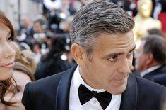 Cool Top 10 Best George Clooney Hairstyles 2016