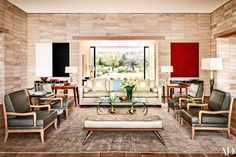 Step inside a modern marvel devised by architect Marwan Al-Sayed and designer Jan Showers in Paradise Valley, Arizona