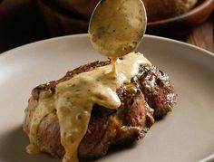 Steak Diane. If You are Going to Use Filet Mignon. Use this Recipe! www.creativeelegancecatering.com    www.creativeelegancecatering,blogspot.com  (recipe site)  Steak Diane, one of the most natural, creative and ancient minimalist dishes of all. Closely related to steak au poivre, and best made with truffles (isn't everything?), it is about as straightforward, simple and impressive a high-class dish as you can make.