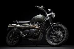 Jurassic World Triumph Scrambler Motorcycle / Gear. Style. Cars. Tech. Vices. pinterest.com/uncrate