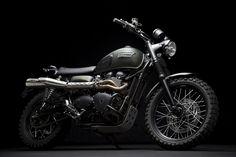 Jurassic World Triumph Scrambler Motorcycle