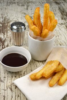 The perfect homemade churros recipe, easy to make and yummy to eat! Love the tip to dip them in chocolate sauce.
