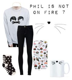 """""""Getting ready for Phil is not on fire 7!"""" by justmarauders ❤ liked on Polyvore featuring Ström and Free Press"""