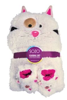 Sozo Baby-Girls Newborn Kitty Cuddle Set, Beige, Small Sozo. $40.00