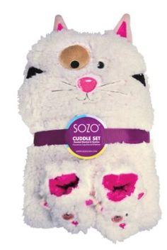Sozo Baby-Girls Newborn Kitty Cuddle Set, Beige, Small Sozo. $40.00
